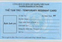 Dịch vụ làm thẻ tạm trú 2 năm